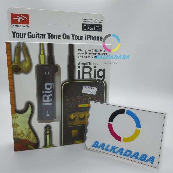 Foto Produk AmpliTube iRig Interface Guitar untuk iOS,iPhone iPad dan Android dari BALKADABA