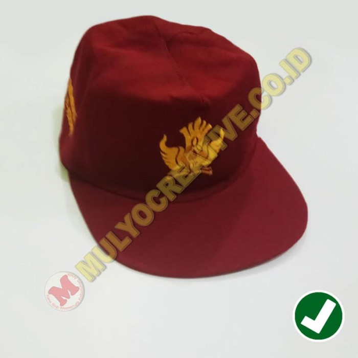 Jual Topi Sekolah - Topi SD Bordir Logo Tut Wuri Handayani - MULYO ... f3d1b47836