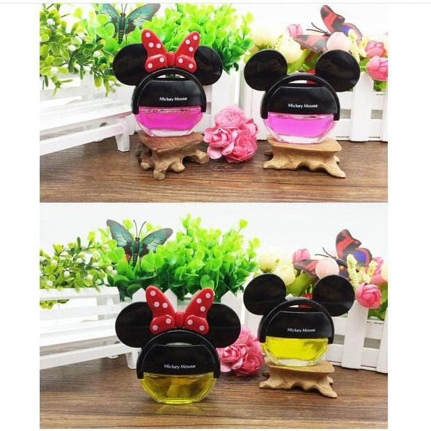 Disney Disneyland Mickey Minnie Mouse Couple Parfume Pewangi Pengharum