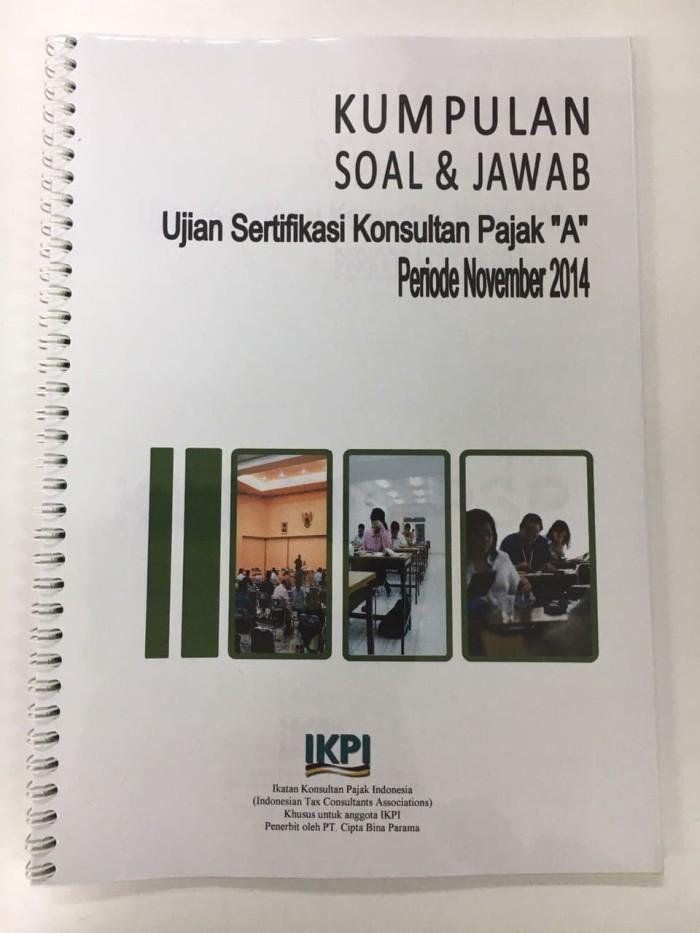 Foto Produk KUMPULAN SOAL & JAWAB USKP A - NOVEMBER 2014 dari Tax Training House