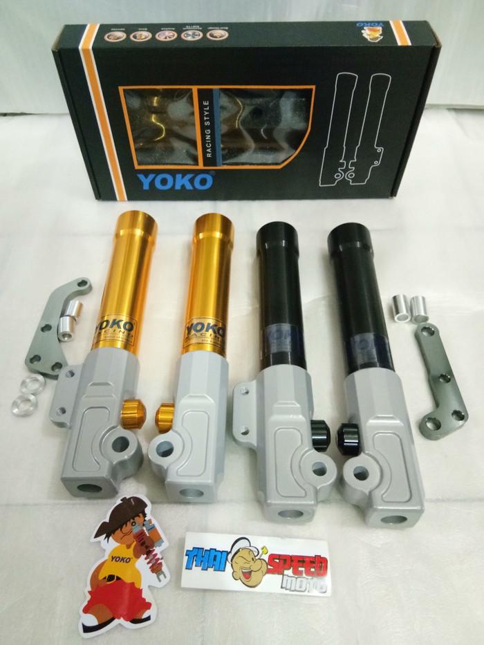 harga Bottom shock depan rt yoko yamaha matic dan honda matic Tokopedia.com
