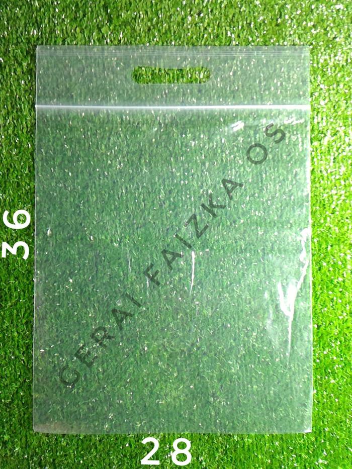 harga Kantong plastik pe clip pond/plong uk.28x43 Tokopedia.com