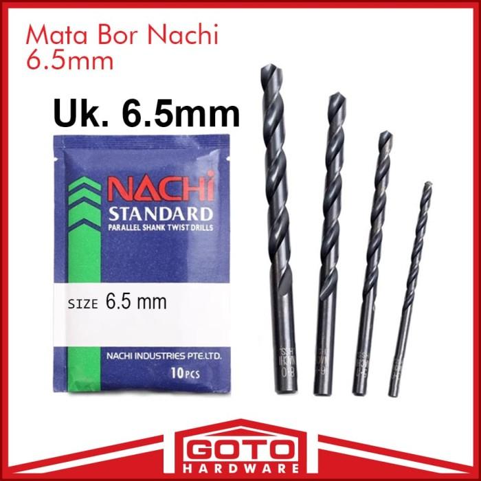 harga Mata bor nachi 6.5mm straight shank drill hss besi kayu alumimium Tokopedia.com