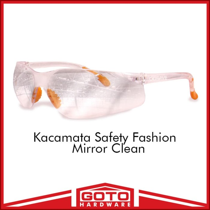 harga Kacamata safety fashion clear mirror gaya gerinda bening kaca mata Tokopedia.com