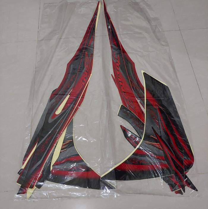 harga Stiker bodi & lis body & striping jupiter z 2010 new merah full Tokopedia.com