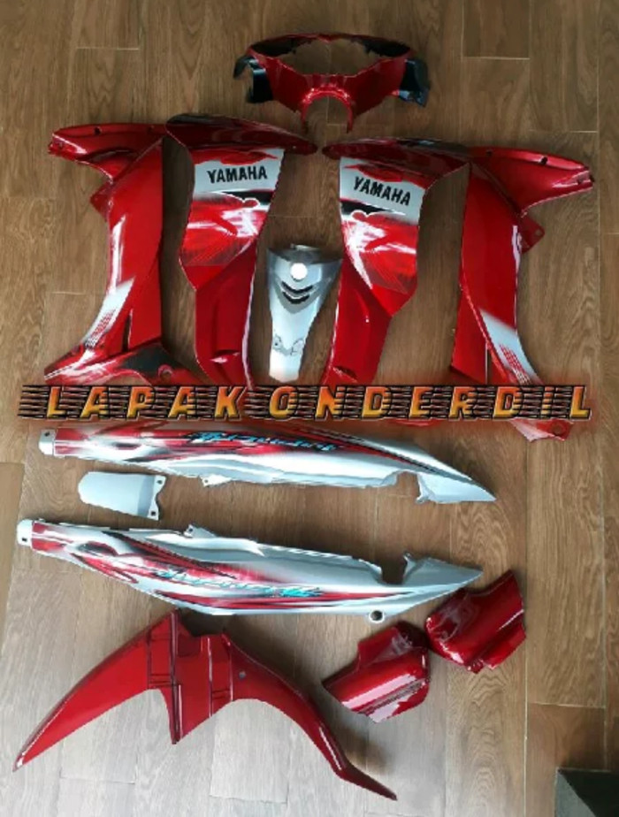 Foto Produk body jupiter z halus fullset dari ONDERDIL MOTOR PEDIA