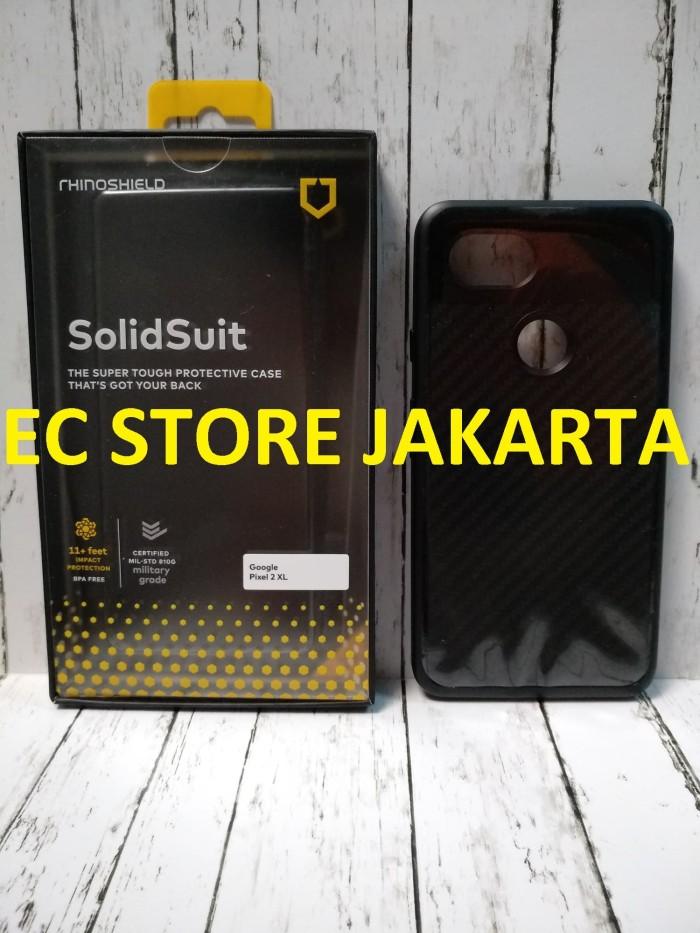 timeless design f97ed 57282 Jual Original RhinoShield SolidSuit Black Carbon Case Google Pixel 2 XL -  Jakarta Utara - EC Store Jakarta | Tokopedia