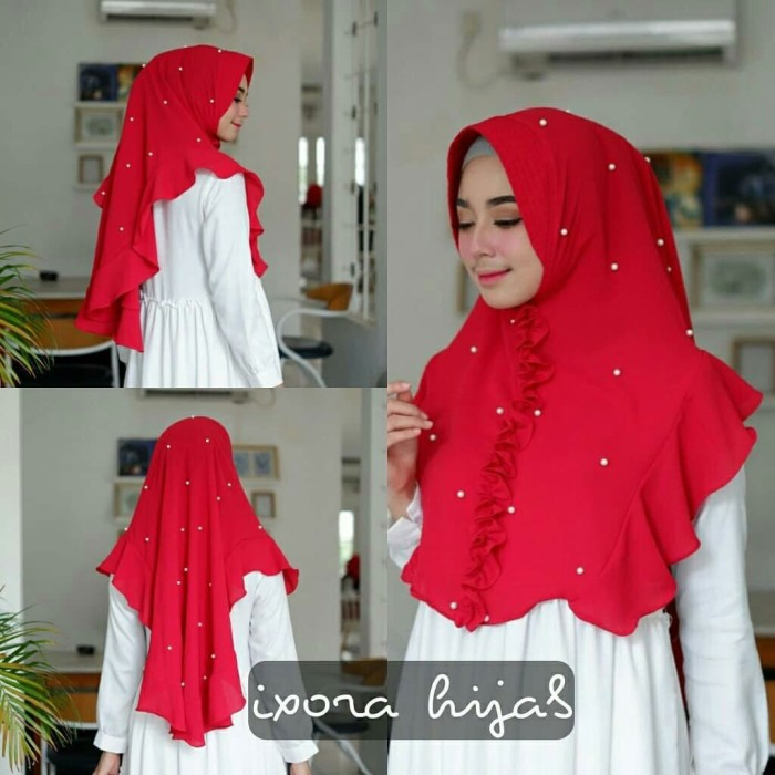 Tutorial Hijab Jepit Rambut