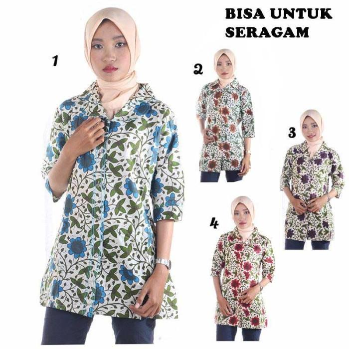 harga Blus batik agni Tokopedia.com