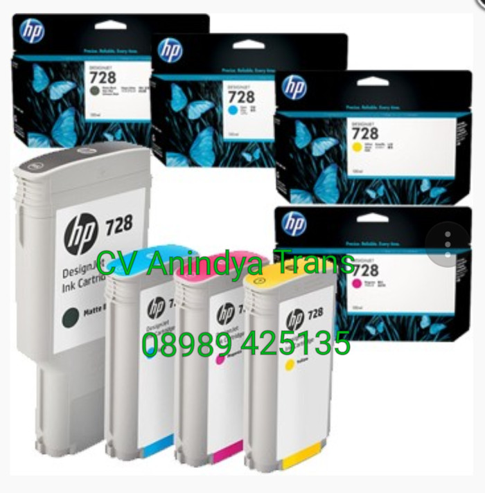 harga Hp plotter ink 728 for t380 & t370 cv anindyatrans Tokopedia.com