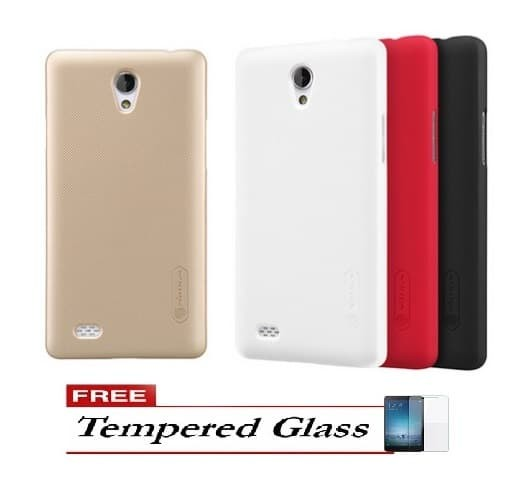 Nillkin Frosted Case for Oppo Joy 3 A11 Free Tempered Glass