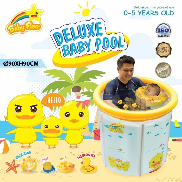 harga Kolam baby spa baby flow jumbo 90x90cm duck transparant Tokopedia.com