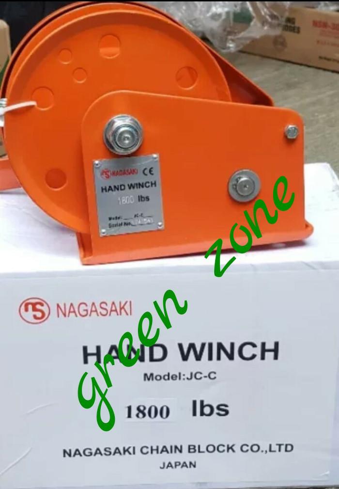 harga Hand winch katrol kerekan manual kapasitas 1800 lbs Tokopedia.com