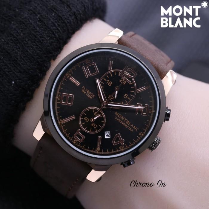 harga Jam tangan pria montblanc kulit chrono aktif Tokopedia.com