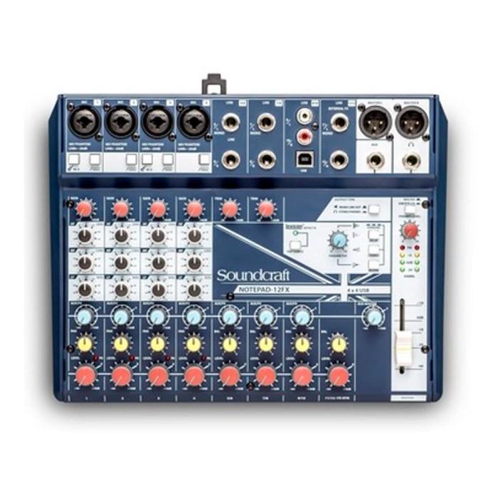 Foto Produk Soundcraft Notepad 12FX Mixer Audio dari Melodia Musik Online