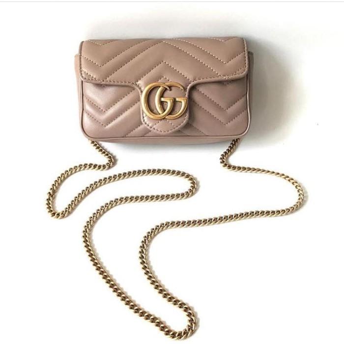 bec1a8e3843 Tas Gucci GG Marmont Matelasse Shoulder Bag Asli / Ori / Authentic