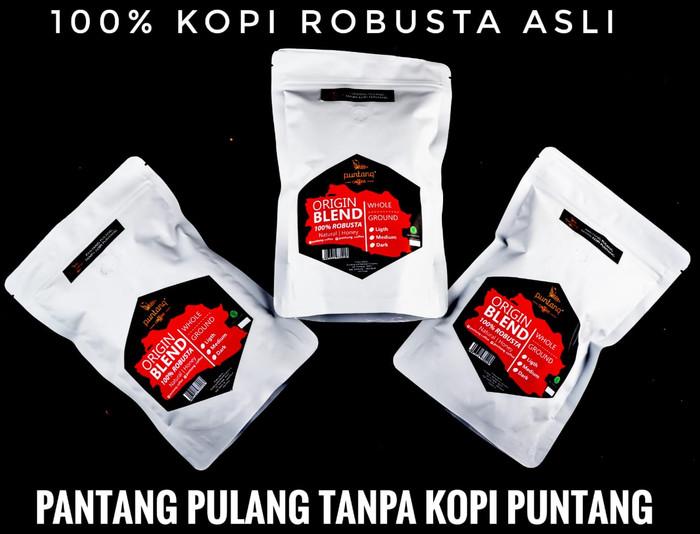 Biji kopi hitam robusta terbaik  250gr