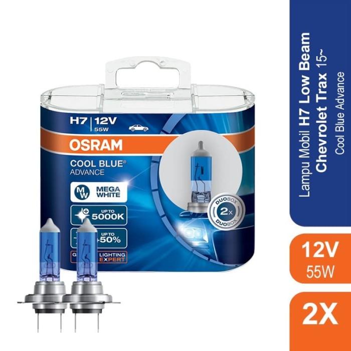 jual osram lampu mobil chevrolet trax 2010-on low beam h7 - 62210cba