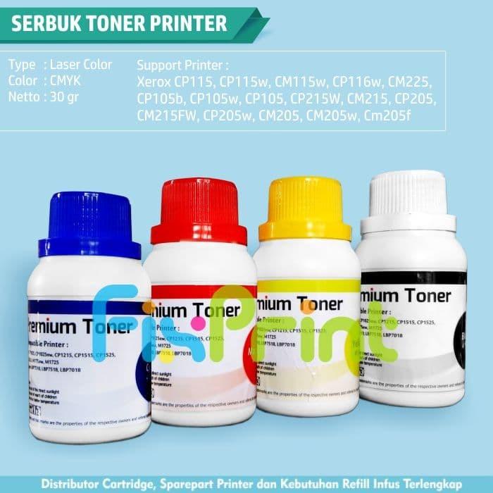 harga Serbuk + chip fuji xerox cp115 cp116 cm115 cm118 cp119 cp228 cp225 Tokopedia.com