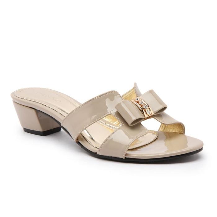 harga Heels sandal wanita gabino samantha cream - beige 41 Tokopedia.com