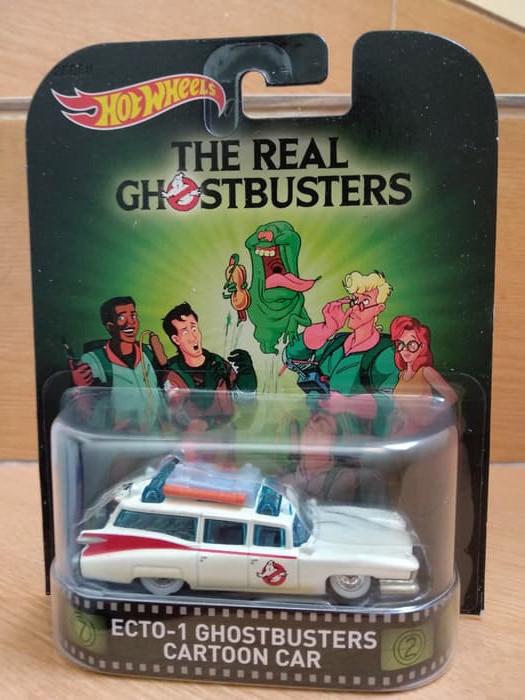 harga Ecto 1 ghostbuster cartoon car hotwheels real riders Tokopedia.com