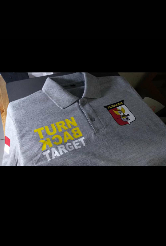 harga Polo shirt/kaos kerah turn back target perbakin Tokopedia.com
