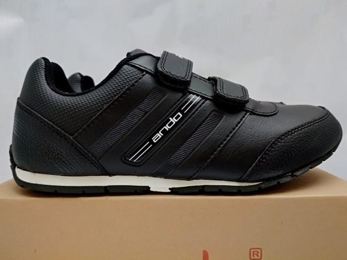 harga Sepatu sekolah ando diva sepatu sekolah anak prempuan sd kets hitam Tokopedia.com