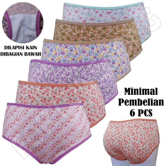 Jual Celana Dalam Wanita Premium Aneka Motif - Random 04904e9b74