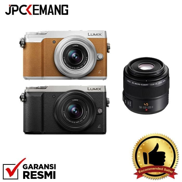 harga Panasonic lumix gx85 kit 12-32 + panasonic leica 45mm f/2.8 - perak Tokopedia.com