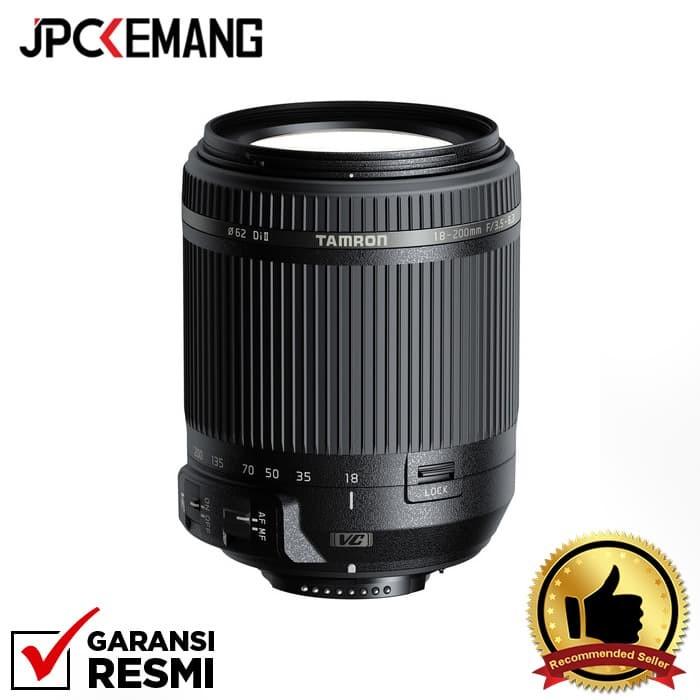 Foto Produk Tamron for Nikon 18-200mm f/3.5-6.3 Di II VC GARANSI RESMI dari JPCKemang