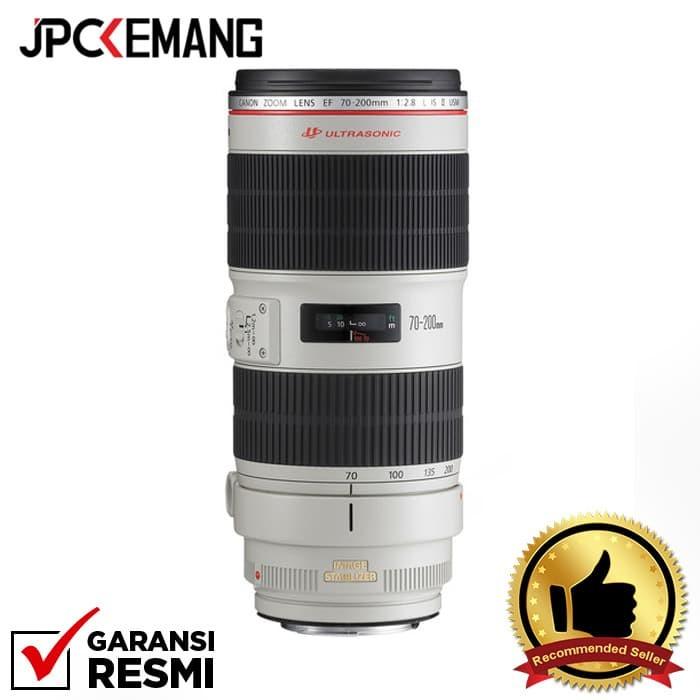 Foto Produk Canon EF 70-200mm f/2.8L IS II USM GARANSI RESMI dari JPCKemang