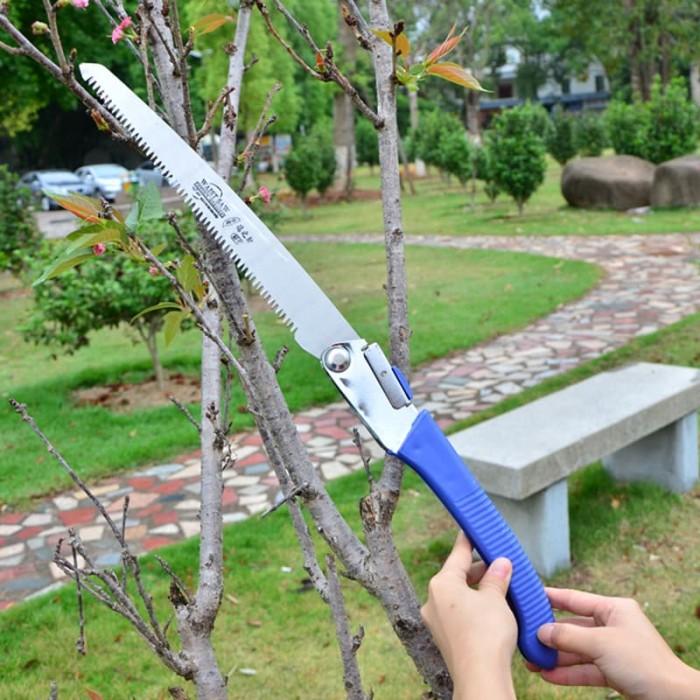 harga Gergaji kayu manual gergaji pohon lipat portable gergaji dahan ranting Tokopedia.com