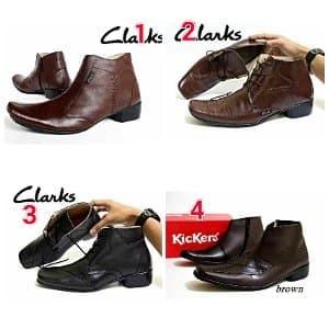 Sauqi Brightside Sepatu Casual Formal Pria Kulit Asli Black - Daftar ... 36ee397d49