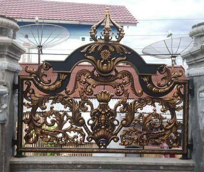 Galeri Pagar Rumah Mewah  jual pagar rumah mewah kota tangerang pagar besi tempa central tokopedia
