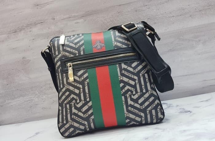 ... Gucci Courrier Gg Supreme Messenger Bag / Tas Selempang Pria Branded - Blanja.com ...