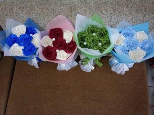 Foto Produk [READY STOCK buket bunga hadiah valentine wisuda ultah kado murah dari putria-