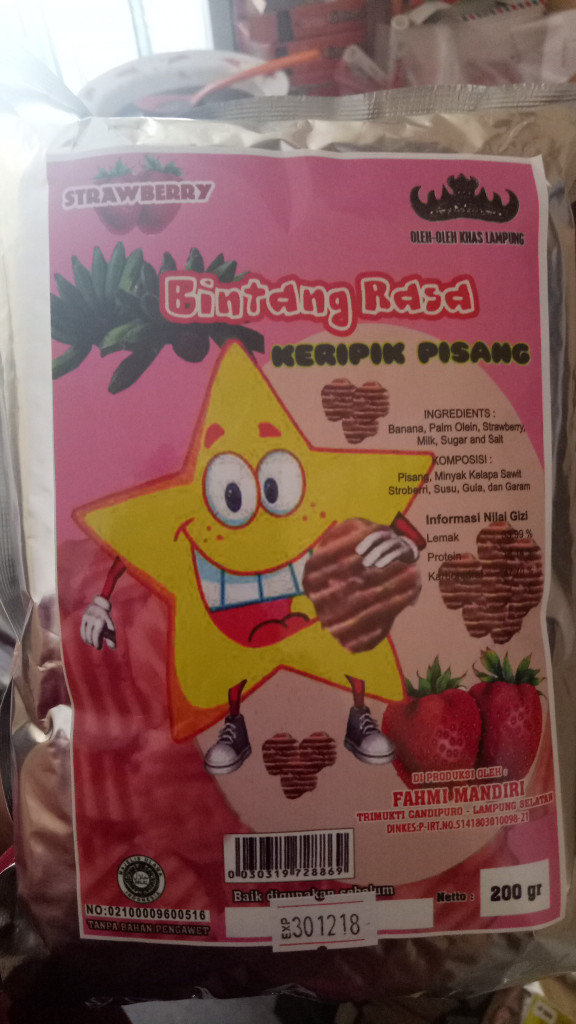 Gambar Keripik Pisang Coklat Khas Lampung Jual Keripik Pisang Coklat Khas Lampung Kab Lampung Selatan