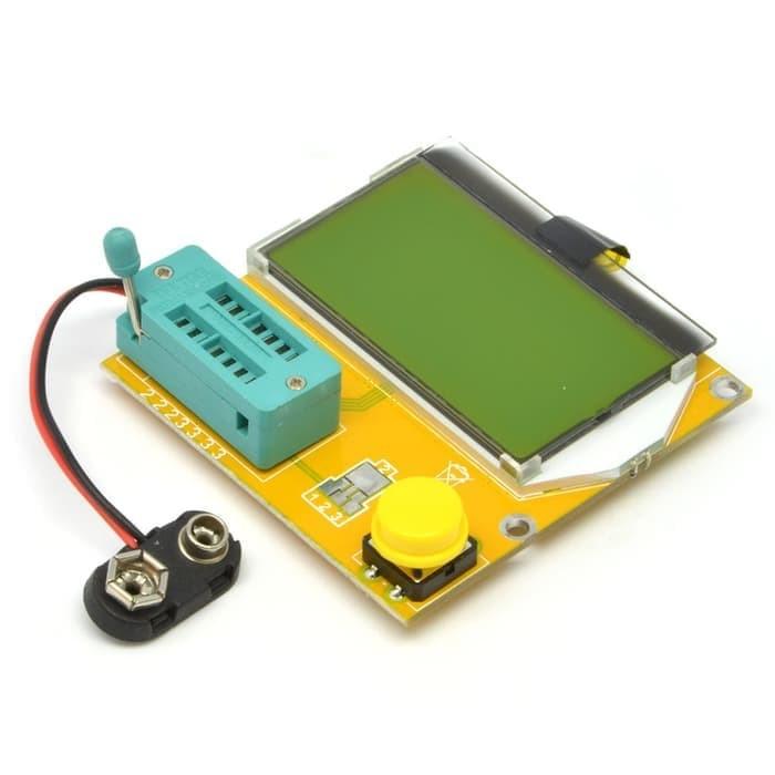 harga Mega328 lcr-t4 esr meter lcr led transistor diode triode capacitance Tokopedia.com