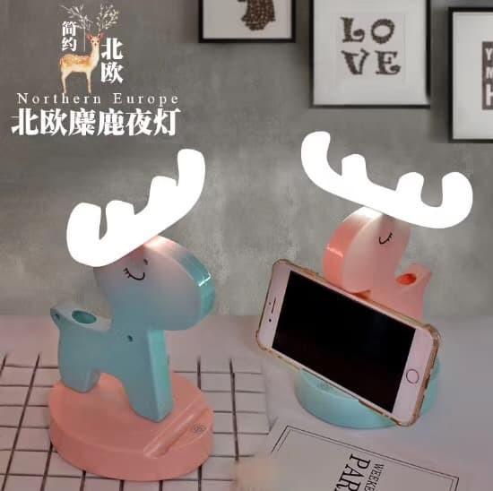 harga Lampu meja led phone holder universal hanger aksesoris hp tempat pen Tokopedia.com