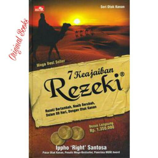 harga Buku 7 keajaiban rezeki + cd hard cover ippho santosa seri otak kanan Tokopedia.com