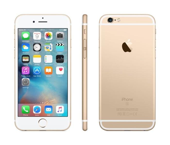 Apple iphone 6s 16gb smartphone - gold cpo [garansi internasional] ...
