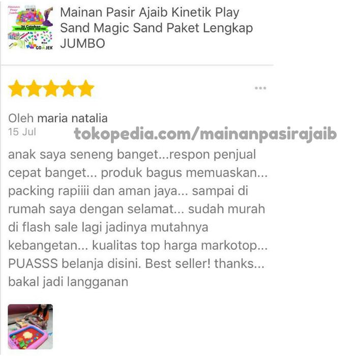 Jual Mainan Pasir Ajaib Magic Model Play Sand - Mainan Pasir Ajaib ... 5d51794378