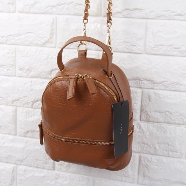 Jual Tas Ransel Zara Convertible Mini Backpack Multifungsi Grade ... 579373c28c