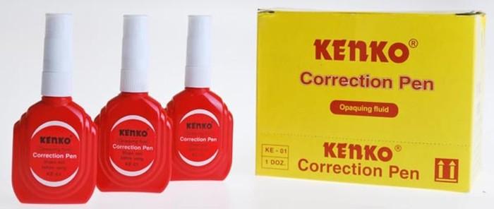 Correction Pen Tip Ex Kenko KE-01 (pack = 12 pcs) Alat Tulis