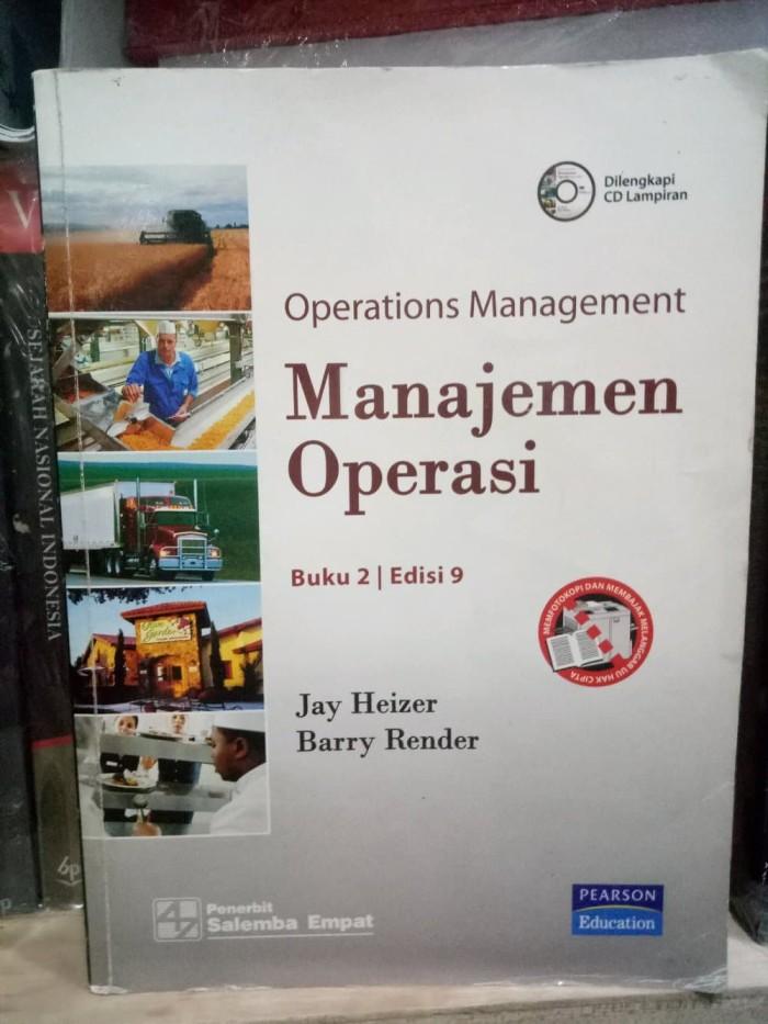 Ebook Manajemen Operasi Jay Heizer