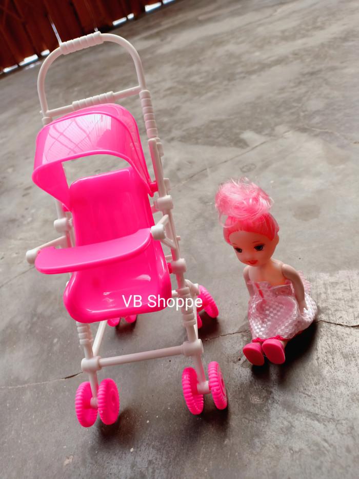 harga Mainan anak boneka bayi barbie stroller kereta dorong baby Tokopedia.com