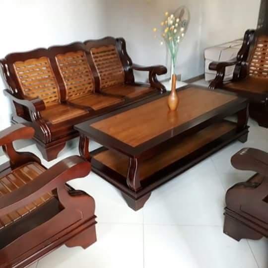 Jual Kursi Tamu Gajah Minimalis Sofa Set Kayu Jati Ruang Tamu Kab Jepara Winwin Furnie Tokopedia