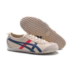 best cheap 6a53d ddc25 Asics Onitsuka Tiger Mexico 66 beige Blue Red premium Limited
