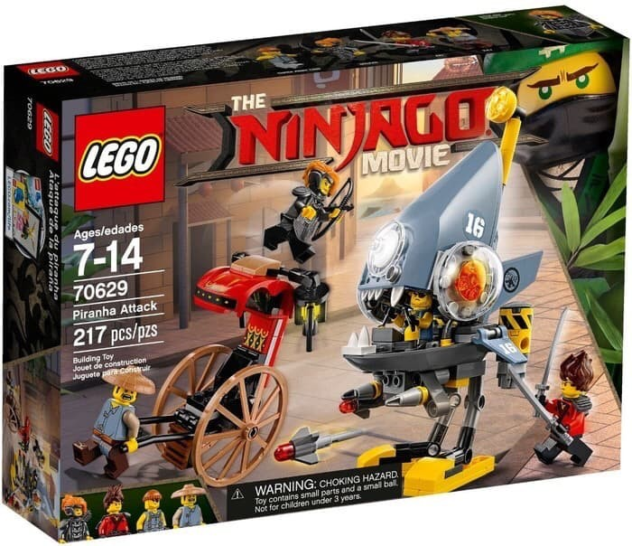 StoreTokopedia Jual Movie Chase Lego Arr Dki Jakarta The Ninjago Piranha 70629 P8k0wOn