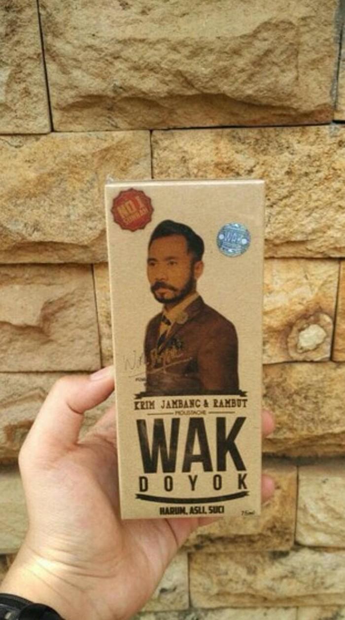 Segini Daftar Harga Wak Doyok Asli Malaysia Murah Terbaru 2018 Original Kemasan Hemat Sample Cream Penumbuh Jenggot Kumis Jambang Alis Rambutimport Gambar